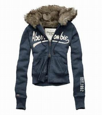 Womens Abercrombie & Fitch Hoodies With Fur-83