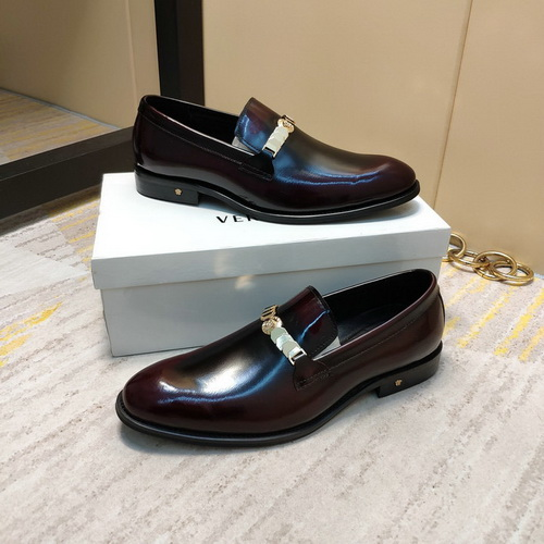 Men's Versace Dress Leather Shoes In High Quality-12