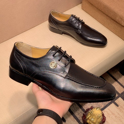 Men's Versace Dress Leather Shoes In High Quality-21
